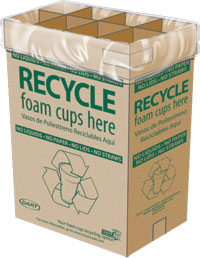 Illustration of Recycla-Pak Box