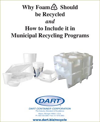 How to Include Foam #6 in  Municipal Recycling Programs