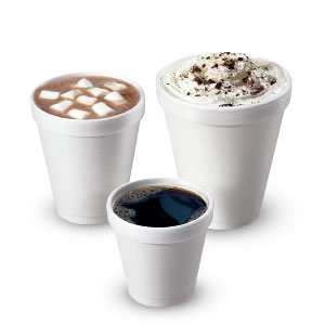 Small Foam Cups