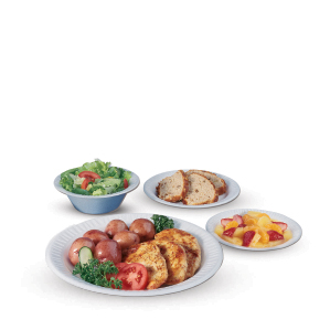 Quiet Classic® Laminated Dinnerware