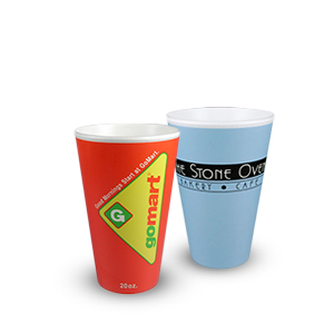 Fusion® Graphically-Enhanced Insulated Custom Print Cups