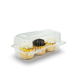 StayLock® Clear Hinged Lid Containers