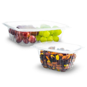 ClearPac® Plastic Containers and Lids
