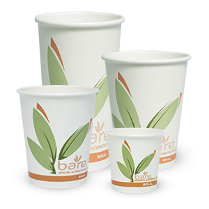 Bare® by Solo® Eco-Forward® Post Consumer Fibre (PCF) Paper Hot Cups