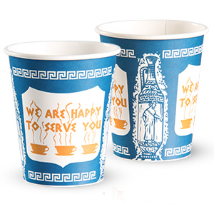 Anthora™ Stock Printed Solo® Paper Hot Cups