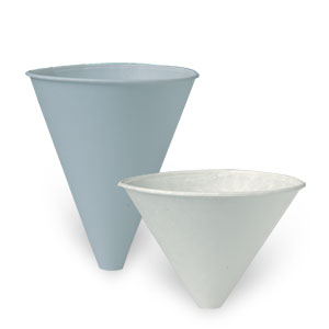 Bare® by Solo® Eco-Forward® Pre-Treated Paper Funnel Cups