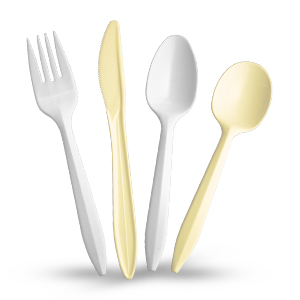 Style Setter® Medium Weight Polypropylene Cutlery