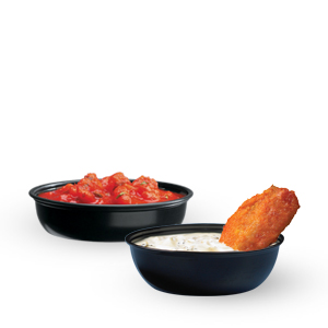 Sauces, Sides and Sweets™ Polystyrene Plastic Containers