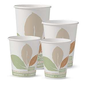Bare® by Solo® Eco-Forward® Single Sided PLA (SSPLA) Paper Hot Cups