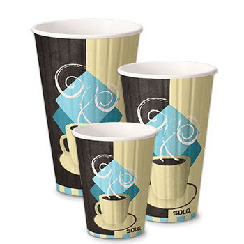 Duo Shield® Double Wall Insulated Paper Hot Cups