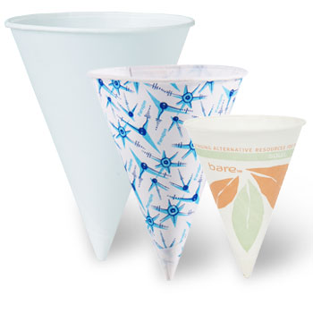 Bare® by Solo® Eco-Forward® Treated Paper Cone Water Cups