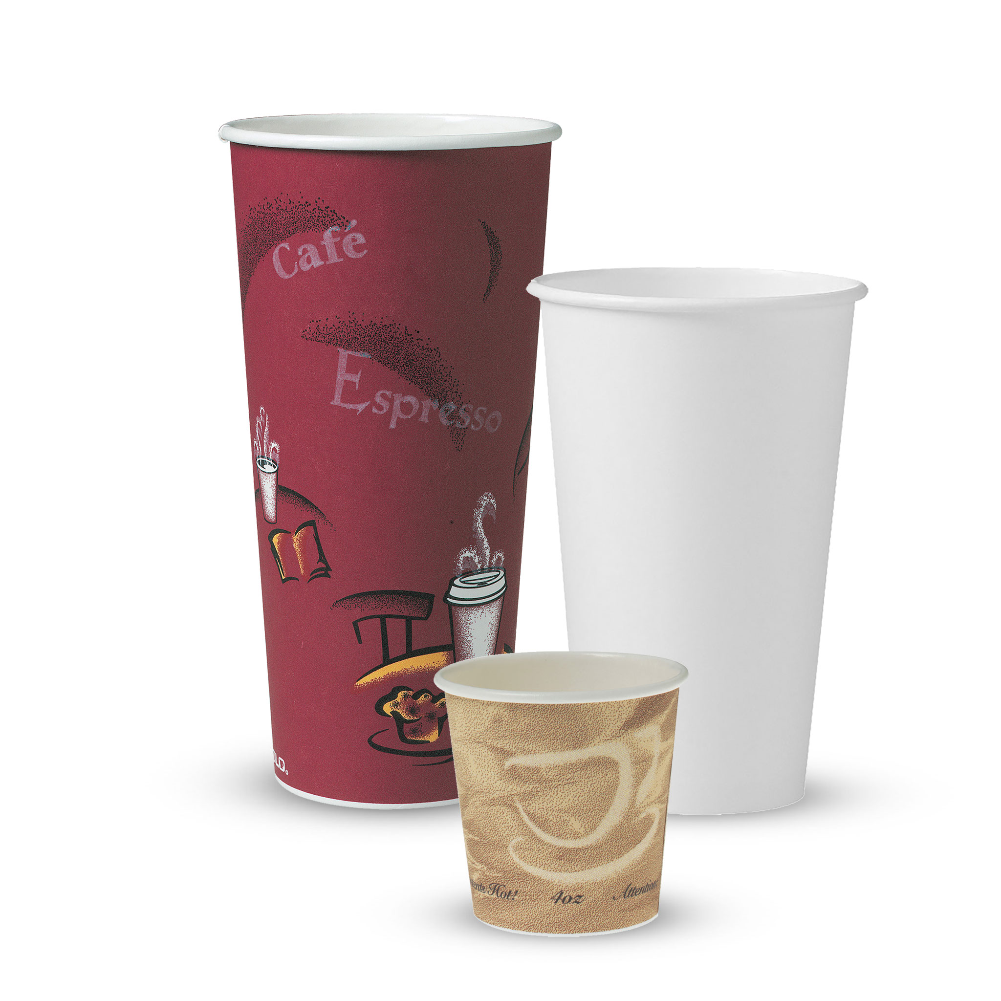 Solo® Single Sided Poly (SSP) Paper Hot Cups